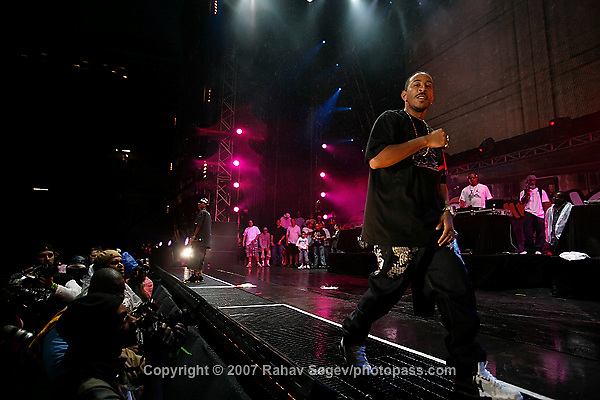 Ludacris performing at Giant's Stadium in East Rutherford New Jersey on June 3, 2007 during Hot 97's Summerjam 2007... ..© Rahav Segev/ Retna ltd.