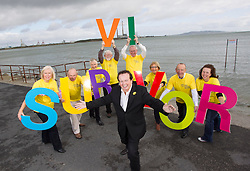 Repro Free: 19/09/2013<br /> Photo Caption<br /> RT&Eacute;'s GAA Broadcaster Marty Morrissey launchesIrish Cancer Society National Conference for Cancer Survivorship<br /> <br />  <br /> 19th September 2013: Pictured today was RTE GAA broadcaster Marty Morrissey who helped a group of cancer survivors launch the Irish Cancer Society National Conference for Cancer Survivorship. Ahead of a big weekend of Irish sport, Marty was on hand to promote the Society&rsquo;s largest survivorship conference which it is holding as part of its 50th year celebrations.<br />  <br /> The Irish Cancer Society National Conference for Cancer Survivorship will take place in the Aviva Stadium in Dublin on Friday 20th and Saturday 21st of September and is kindly supported by Roche. The Conference will address the needs of the growing numbers of cancer survivors who are looking to access information and support around the effects of a cancer diagnosis. <br />  <br /> Cancer Survivors are as follows: <br />  Hilary Coffey Farrell, Cervical Cancer Survivor, Kimmage.<br /> Jim Scott, Prostate Cancer Survivor, Churchtown.<br /> Hazel Stephens, Breast Cancer Survivor, Blackrock.<br /> Survivor, Foxrock.<br /> Art Cosgrave, Bowel Cancer <br /> Helen Ryan, Bowel Cancer Survivor, Navan Road.<br /> John Dowling, Prostate Cancer Surivor, Mount Merrion.<br /> John Langton Mouth, Head and Neck Cancer Survivor, Terenure.<br /> Nicola Elmer, Breast Cancer Survivor, Inichore.<br /> <br /> Picture Andres Poveda<br /> <br />  <br /> ENDS<br />  <br /> Contact: &Oacute;rla Sheils, Communications Officer, Irish Cancer Society. Telephone: 01 2310559 / 087 6453867. Email: osheils@irishcancer.ie .