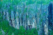 Walls of Ouimet Canyon , Ouimet Canyon Provincial Park, Ontario, Canada