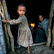 "In some of the small villages of Tigray, there are ""water beggars"": old women and men without families or strength who travel from house to house begging for water.  Raya-Mehoni, Ethiopia."