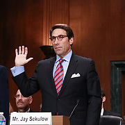 ACLJ Chief Council Jay Sekulow sworn in at Senate hearing on justices