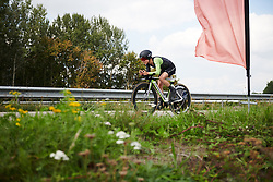 Omer Shapira (ISR) at Boels Ladies Tour 2018 - Stage 6, an 18.6km individual time trial in Roosendaal, Netherlands on September 2, 2018. Photo by Sean Robinson/velofocus.com