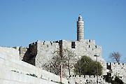 King Davids tower, Jerusalem, Israel