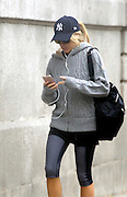 MADRID, SPAIN, 2015, OCTOBER 30 Alejandra Silva, Richard's Gere girlfriend keep watching her routine of going to the gym to maintain her fitness, while her partner continues to meet his professional commitments<br /> ©Exclusivepix Media