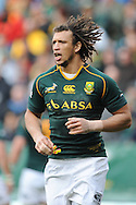 CAPE TOWN, SOUTH AFRICA - Saturday 28 September 2013, Zane Kirchner of South Africa during the Castle Lager Rugby Championship test match between South Africa (Sprinkboks) and Australia (Wallabies) at DHL Newlands in Cape Town.<br /> Photo by Roger Sedres/ ImageSA