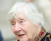 Dame Shirley Williams<br /> arriving for the Andrew Marr Show at the BBC, Portland Place,  London, Great Britain <br /> 3rd July 2016 <br /> <br /> Dame Shirley Williams <br /> Baroness Williams of Crosby<br /> Liberal Democrats<br />  <br /> <br /> Photograph by Elliott Franks <br /> Image licensed to Elliott Franks Photography Services