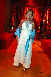 COUNTESS MAYA VON SCHONBURG at a dinner held at the Natural History Museum to celebrate the re-opening of their store at 175-177 New Bond Street, London on 17th October 2007.<br />