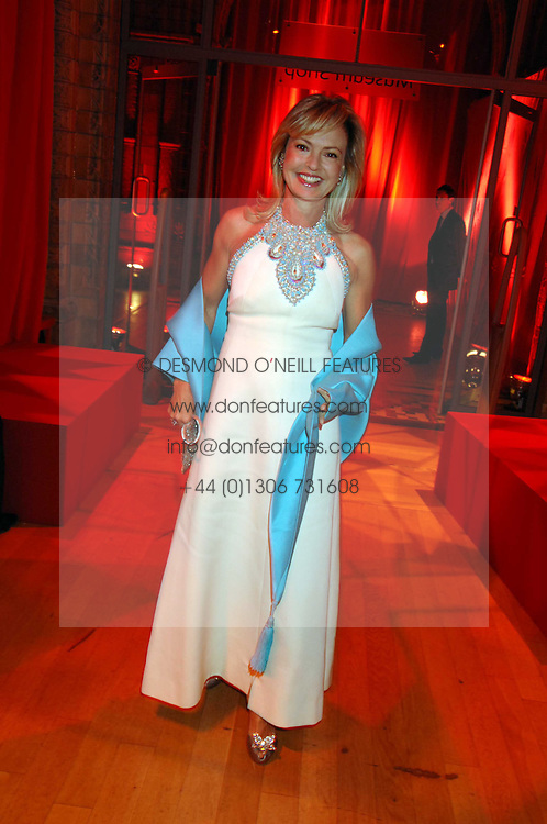 COUNTESS MAYA VON SCHONBURG at a dinner held at the Natural History Museum to celebrate the re-opening of their store at 175-177 New Bond Street, London on 17th October 2007.<br /><br />NON EXCLUSIVE - WORLD RIGHTS