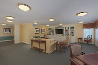 Interior design image of Continuing Care living room at Brightview Towson Assisted Living