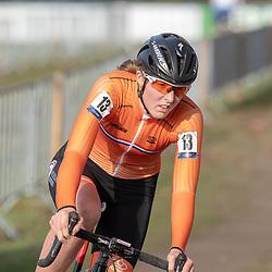 04-11-2018: Wielrennen: EK veldrijden: Rosmalen <br />Manon Bakker