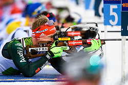March 16, 2019 - –Stersund, Sweden - 190316 Roman Rees of Germany competes in the Men's 4x7,5 km Relay during the IBU World Championships Biathlon on March 16, 2019 in Östersund..Photo: Petter Arvidson / BILDBYRÃ…N / kod PA / 92269 (Credit Image: © Petter Arvidson/Bildbyran via ZUMA Press)