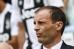 May 19, 2018 - Turin, Italy - Juventus coach Massimiliano Allegri during the Serie A football match n.38 JUVENTUS - VERONA on 19/05/2018 at the Allianz Stadium in Turin, Italy. (Credit Image: © Matteo Bottanelli/NurPhoto via ZUMA Press)