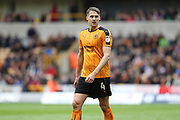Wolverhampton Wanderers midfielder Dave Edwards (4) during the EFL Sky Bet Championship match between Wolverhampton Wanderers and Brighton and Hove Albion at Molineux, Wolverhampton, England on 14 April 2017.
