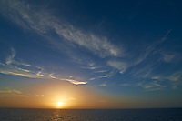 Sunset Over the Caribbean Ocean. Image taken with a Nikon D3x and 14-24 mm f/2.8 lens (ISO 100, 14 mm, f/16, 1/80 sec)