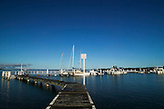 Soldiers Point Jetty, Port Stephens, East Coast, Australia.This large port is a mecca for holiday makers and offshore fishing /sailing boats.