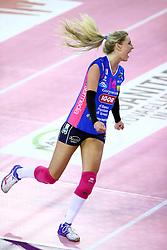 22-10-2016 ITA: Metalliche Montichiari - Igor Gorgonzola Novara, Montichiari<br /> Novara wint met 3-0 / Laura Dijkema #14<br /> <br /> ***NETHERLANDS ONLY***