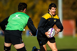 Michael Le Bourgeois of Wasps during training ahead of the European Challenge Cup fixture against SU Agen - Mandatory by-line: Robbie Stephenson/JMP - 18/11/2019 - RUGBY - Broadstreet Rugby Football Club - Coventry , Warwickshire - Wasps Training Session