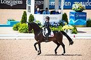 Joanne Vaughan - Elmegardens Marquis<br /> FEI World Equestrian Games Tryon 2018<br /> © DigiShots