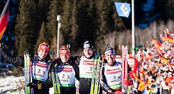 23.01.2011, Südtirol Arena, Antholz, ITA, IBU Biathlon Worldcup, Antholz, Relay Men, im Bild during IBU Biathlon World Cup in Antholz, Italy, EXPA Pictures © 2011, PhotoCredit: EXPA/ J. Feichter