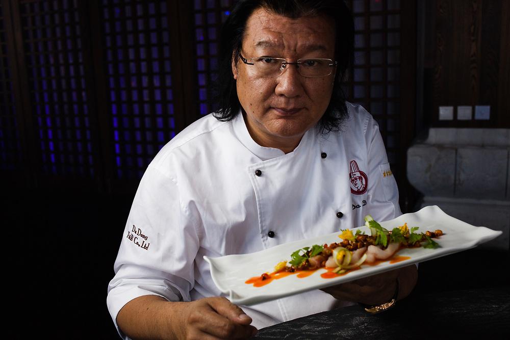 Da Dong - Chef and Founder of Da Dong Roast Duck Restaurant Group Beijing