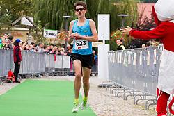 Rok Puhar competes during 3. Konjiski maraton / 3rd Marathon of Slovenske Konjice, on September 27, 2015 in Slovenske Konjice, Slovenia. Photo by Urban Urbanc / Sportida