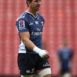 Kwagga Smith of the Emirates Lions during the Emirates Lions Captain Run at the Emirates Airlines Park, South Africa. 23 February 2018 (Photo by Steve Haag/UAR)
