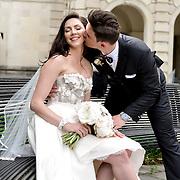 Kristian & Meghan Wedding Samples | Maison Dupuy Courtyard | 1216 Studio Wedding Photography
