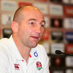 England Press Conference England forwards coach Steve Borthwick talks to the press