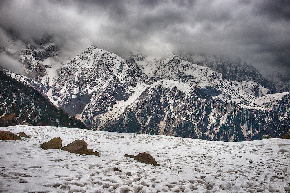 Snow Capped Triund Hill