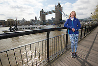Virgin Money London Marathon 2015<br /> <br /> Photocall featuring Paula Radcliffe UK who is running in her last competitive Marathon this Sunday <br /> <br /> Photo: Bob Martin for Virgin Money London Marathon<br /> <br /> This photograph is supplied free to use by London Marathon/Virgin Money.