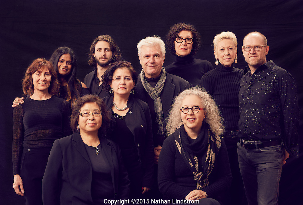 Artists of Sawyer Yards in Houston, TX.<br />
