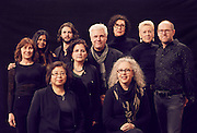 Artists of Sawyer Yards in Houston, TX.<br /> <br /> Group portrait by editorial photographer Nathan Lindstrom.