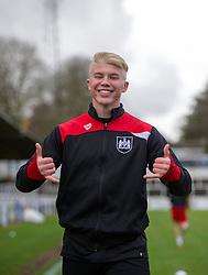 George Dowling of Bristol City during warm-up - Mandatory by-line: Paul Knight/JMP - 16/02/2017 - FOOTBALL - Twerton Park - Bath, England - Bristol City U23 v Southampton U23 - Premier League 2 Cup