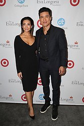 Mario Lopez, Courtney Mazza, at the Eva Longoria Foundation Dinner, Four Seasons Hotel, Los Angeles, CA 11-10-16. EXPA Pictures &copy; 2016, PhotoCredit: EXPA/ Avalon/ Martin Sloan<br /> <br /> *****ATTENTION - for AUT, SLO, CRO, SRB, BIH, MAZ, SUI only*****