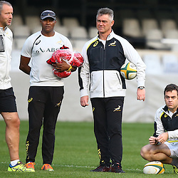 DURBAN, SOUTH AFRICA - AUGUST 07: GV during the Springboks captains run at Growthpoint Kings Park on August 07, 2015 in Durban, South Africa. (Photo by Steve Haag/Gallo Images)