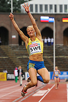 ATHLETICS - TEAM EUROPEAN CHAMPIONSHIPS 2011 - STOCKHOLM (SWE) - 18-19/06/2011 - PHOTO : STEPHANE KEMPINAIRE / DPPI - <br /> LONG JUMP - WOMEN - KAROLINA KLUFT (SWE)