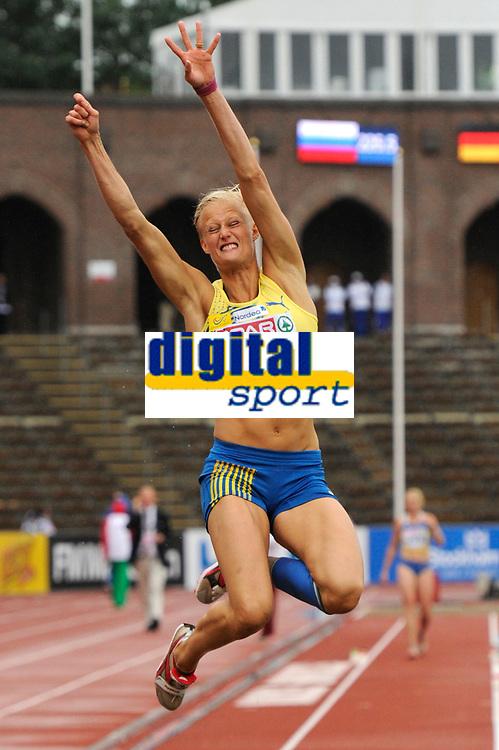 ATHLETICS - TEAM EUROPEAN CHAMPIONSHIPS 2011 - STOCKHOLM (SWE) - 18-19/06/2011 - PHOTO : STEPHANE KEMPINAIRE / DPPI - <br /> LONG JUMP - WOMEN - KAROLINA KLUFT (SWE)