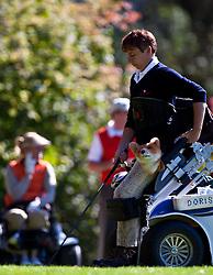 03.10.2010, Golfclub, Zell am See Kaprun, AUT, European Paragolf Championships 2010, im Bild Doris Fuchs, AUT, beim Abschlag, EXPA Pictures © 2010, PhotoCredit: EXPA/ J. Feichter