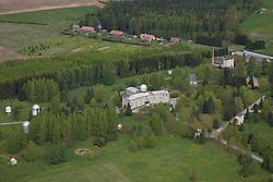 Tõravere Observatory Aerial View, Tartu County, Estonia
