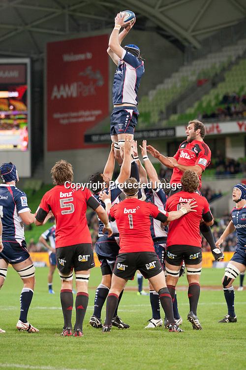 Hugh Pyle - Crusaders, Melbourne Rebels v Canterbury Crusaders 28-19, 12 May 2012