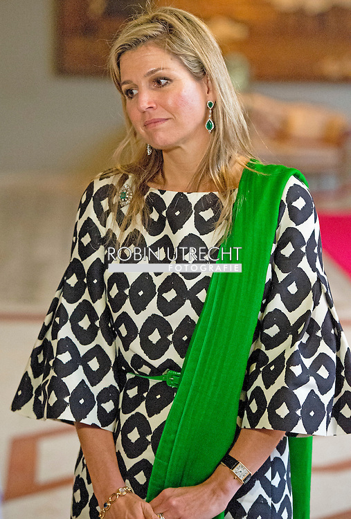 18-11-2015 DHAKA Queen Máxima leaves for the aiport to go back to the netherlands in the  Pan Pacific Sonargaon Hotel .Queen Máxima visits at the invitation of Bangladesh and as a special advocate of the Secretary-General of the United Nations for inclusive finance for development. COPYRIGHT ROBIN UTRECHT