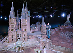 Model of Hogwarts Castle goes on show