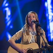 NLD/Hilversum/20140221 - Finale The Voice Kids 2014, Lauren van der Kraam