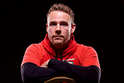 CARDIFF, WALES - Wednesday, March 22, 2017: Wales' Chris Gunter poses for a portrait ahead of the 2018 FIFA World Cup Qualifying Group D match against Republic of Ireland. (Pic by David Rawcliffe/Propaganda)