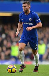 Daniel Drinkwater of Chelsea - Mandatory by-line: Alex James/JMP - 02/12/2017 - FOOTBALL - Stamford Bridge - London, England - Chelsea v Newcastle United - Premier League