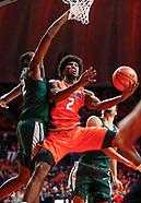 NCAA Basketball - Illinois Fighting Illini vs Michigan State Spartans - Champaign, Il