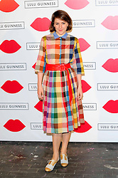 """Lulu Guinness Paint Project.<br /> Gemma Whelan attends the """"Lulu Guinness paint project in collaboration with beautiful crime and their artist Joseph Steele"""" Held at the old sorting office, Oxford street,<br /> London, United Kingdom<br /> Thursday, 11th July 2013<br /> Picture by Chris  Joseph / i-Images"""