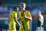 Jake Hesketh (8) of Burton Albion during the EFL Sky Bet League 1 match between Plymouth Argyle and Burton Albion at Home Park, Plymouth, England on 20 October 2018.