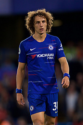 LONDON, ENGLAND - Saturday, September 29, 2018: Chelsea's David Luiz during the FA Premier League match between Chelsea FC and Liverpool FC at Stamford Bridge. (Pic by David Rawcliffe/Propaganda)