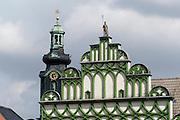 Renaissance Giebel, Markt, Weimar, Thüringen, Deutschland   Renaissance House, Market Square, Weimar, Thuringia, Germany